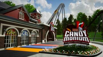 Reading and Harrisburg Breaking News - FIRST LOOK - Hersheypark's New Coaster Candymonium Has Gone Vertical!