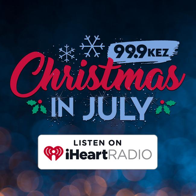 Iheart Christmas.Phoenix S 99 9 Kez Launches Kez Christmas In July On