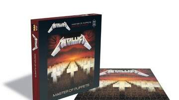 The Gunner Page - Metallica & Rush Album Cover PUZZLES Arrive In September