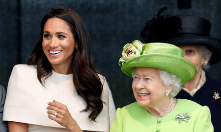 image for Meghan Markle Thinks Restrictions Put On Her & Harry By Queen Are Payback