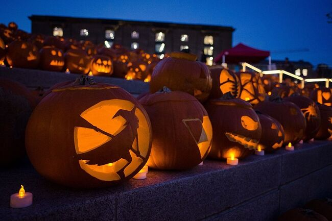 BRITAIN-CULTURE-FESTIVAL-HALLOWEEN