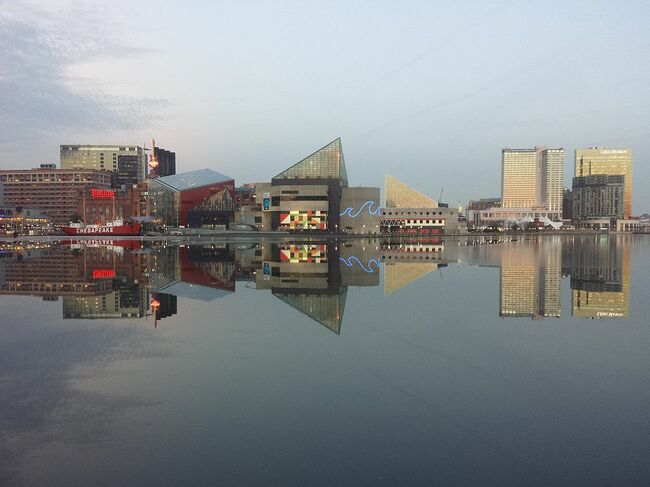 US-CITYSCAPES-BALTIMORE