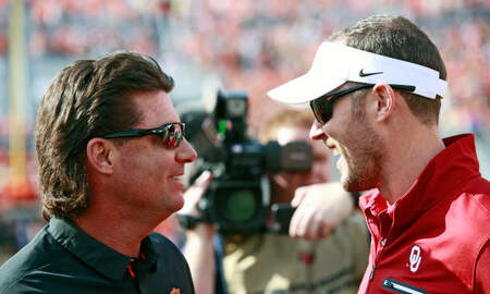 None - Cowboys, Sooners Scale Back Practice As Classes Begin