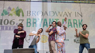 Broadway in The Park - Disney Day At Broadway In Bryant Park: 7/25