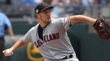 Sports Top Stories - Upset Indians Pitcher Trevor Bauer Throws Baseball Over Center Field Fence