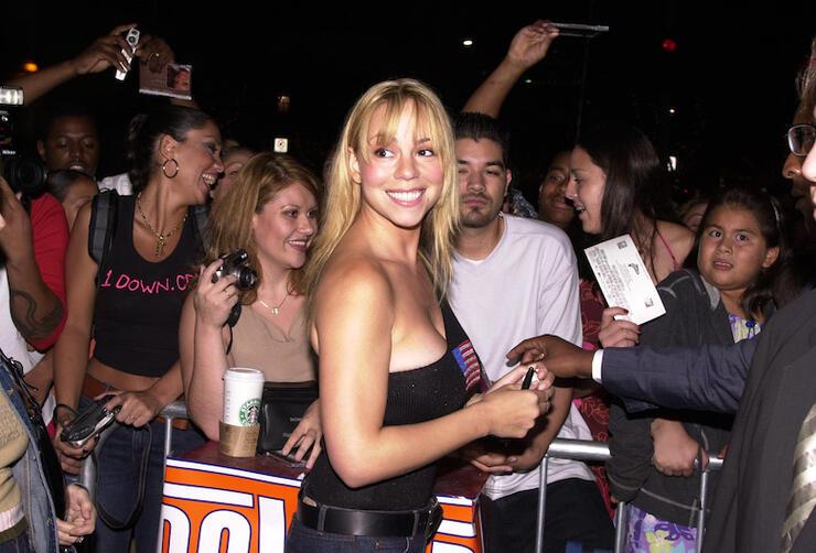 Screening of Mariah Carey's Glitter