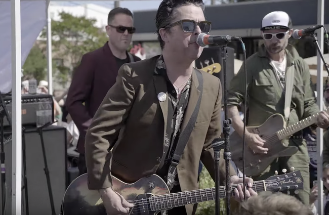 Green Day Members Play Surprise Covers Set At Oakland Block Party: Watch