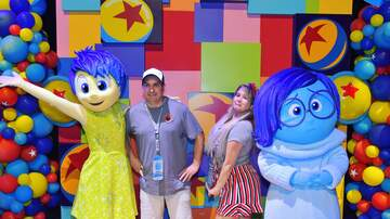 Sunny 106.5 Morning Show - PHOTOS: Marco & Joanna At The Disneyland® Resort!