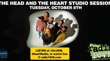 None - The Head and The Heart Studio Session – Tuesday, October 8th