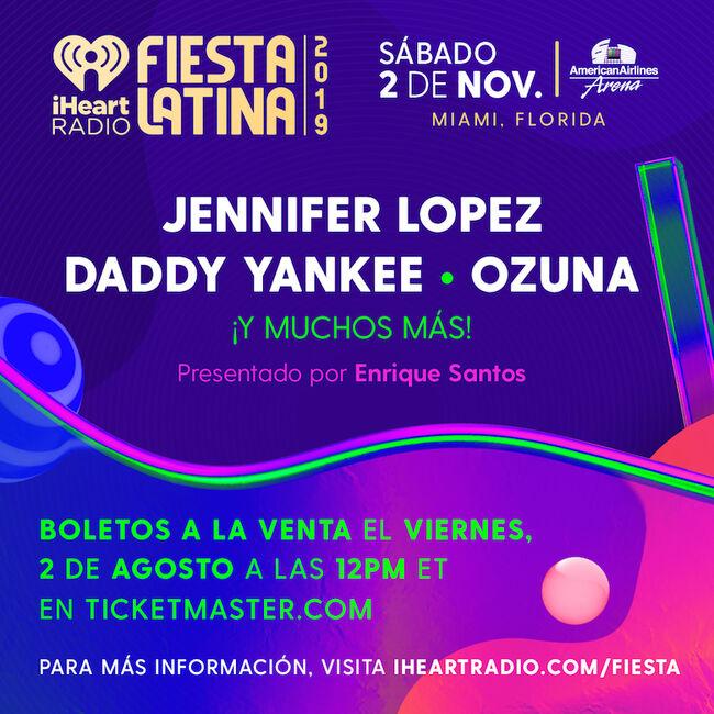 2019 iHeartRadio Fiesta Latina