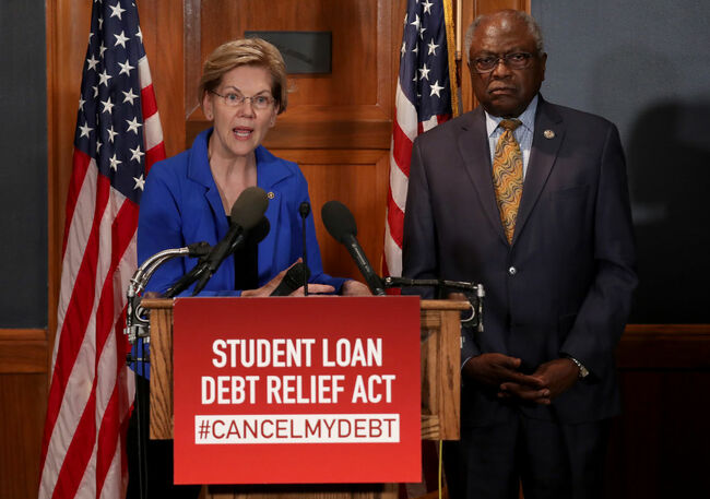 The Mighty Pen: Warren Pledges to Sign Away Student Debt