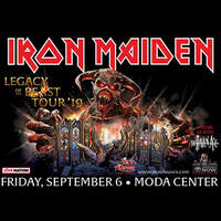 Win Tickets To Iron Maiden!
