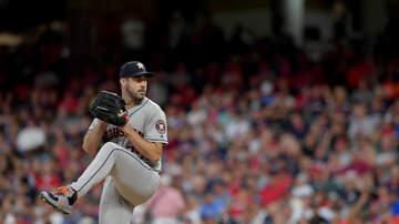 Sports Desk - Verlander, Astros Shut Down Indians