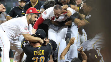 Sports Top Stories - Wild Brawl Breaks Out In The Ninth Inning Between The Reds And The Pirates