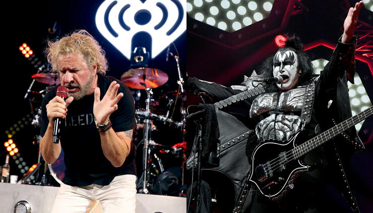 "Sammy Hagar Recalls His ""Jim Morrison"" Moment Opening For KISS 