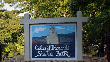 Toby Knapp - #DIAMONDS: Teacher finds TWO CARAT DIAMOND at Arkansas State Park!