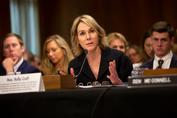 Nominee To Be The Representative To The United Nations Kelly Craft Testifies Before The Senate