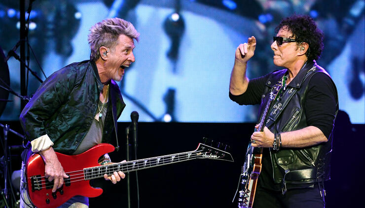 Journey Begins Second Residency At The Hard Rock In Las Vegas
