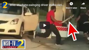 Jess Live - ATL MAN ATTACKS MAN WITH MACHETE FOR PULLING INTO GAS STATION TOO SLOWLY