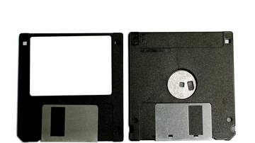 Judi Diamond - Two Words:  Floppy Disks, and other benign Stuff
