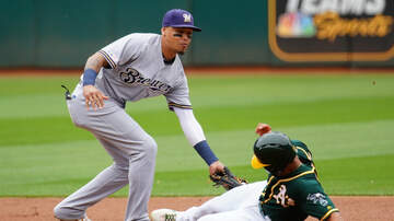 Brewers - Brewers fall in series finale to Oakland 5-3 Thursday