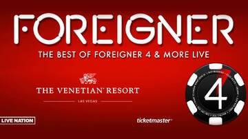 None - Foreigner at The Venetian Theatre inside The Venetian Resort