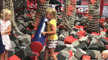 Hitman - Middle Child Knocks Siblings Off Soft Play
