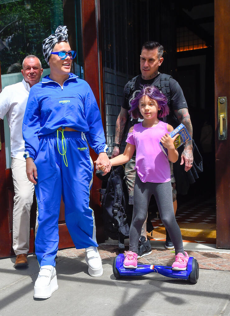 Celebrity Sightings In New York City - May 21, 2019