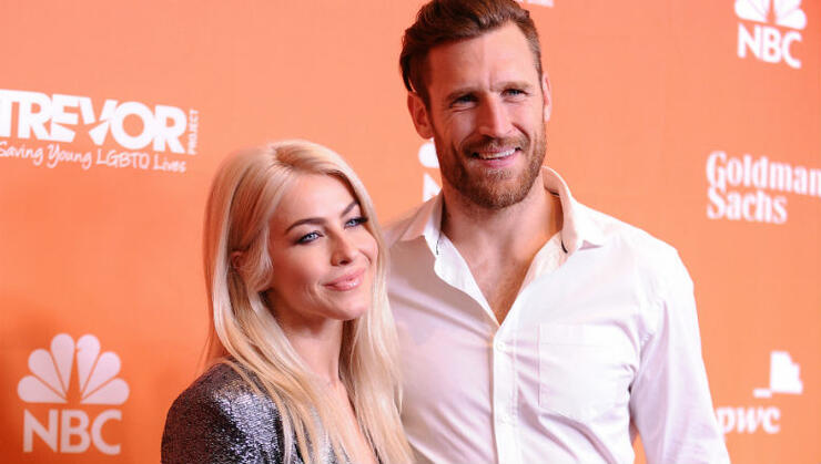 Julianne Hough's Husband Reacts After She Confesses She's 'Not Straight' | iHeartRadio