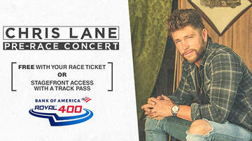 None - Bank of America Roval 400 with Chris Lane