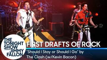 Frank Bell - Jimmy Fallon & Kevin Bacon as The Clash