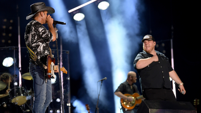 Tim McGraw And Luke Combs Light Up Nashville With 'Real Good Man' Duet
