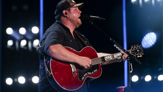 Luke Combs Scores Sixth No. 1 With 'Beer Never Broke My Heart'