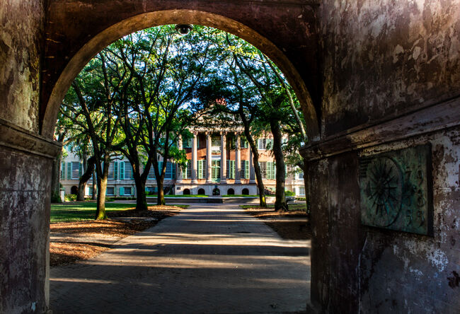 The Cistern at the College of Charleston