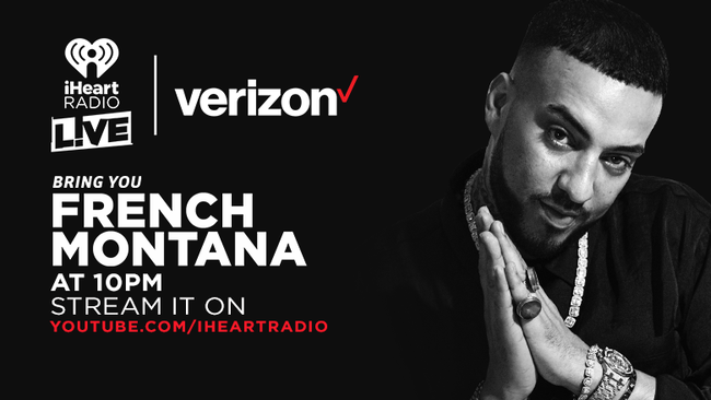French Montana iHeartRadio LIVE!