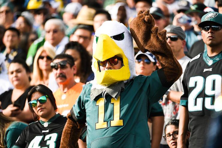 Philadelphia Eagles v Los Angeles Rams