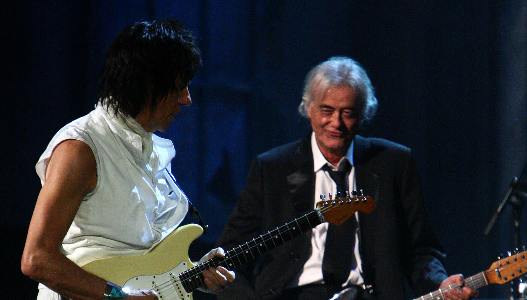 Jimmy Page Says Jeff Beck's Sister Arranged Playdate When They Were Teens