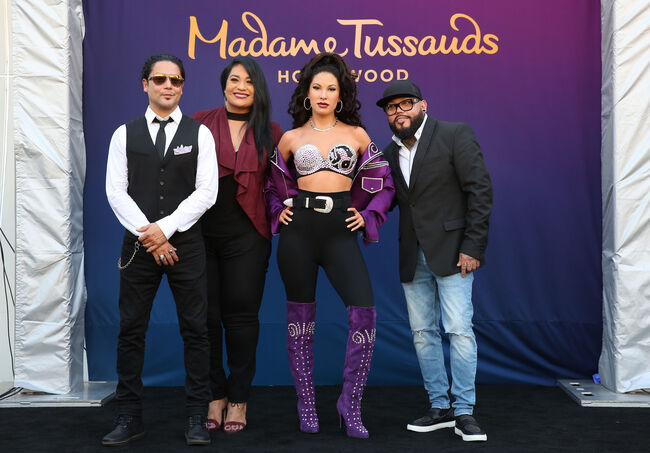 Madame Tussauds Hollywood Unveils GRAMMY Award Winner And Cultural Icon Selena Quintanilla In Wax