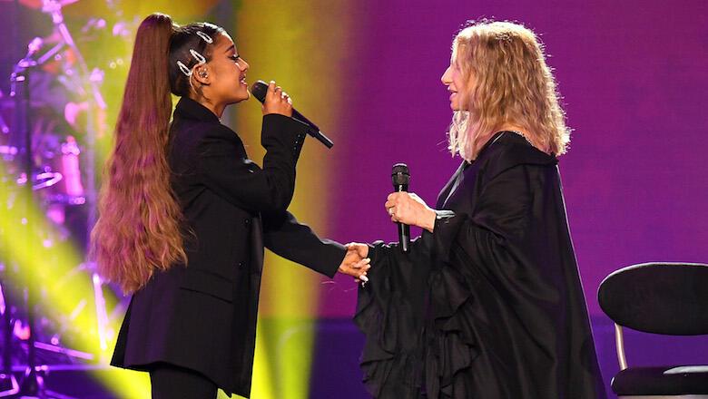 Ariana Grande Joins Barbra Streisand In Chicago For Surprise Disco Duet