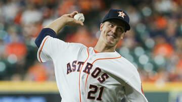 Sports Desk - Greinke Earns First Win As An Astro