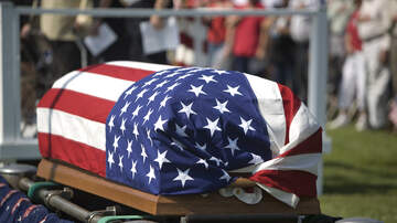 Chuck and Kelly - Happy Hour: Overwhelming Turnout for Lonely Vet's Funeral