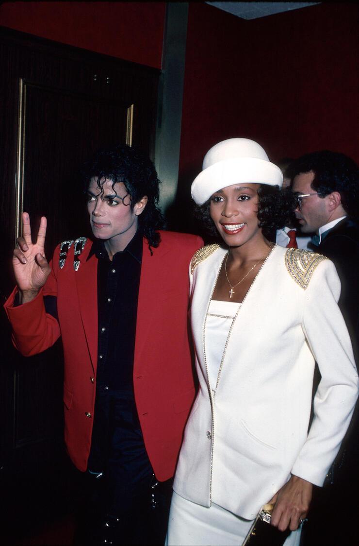 Michael Jackson;Whitney Houston