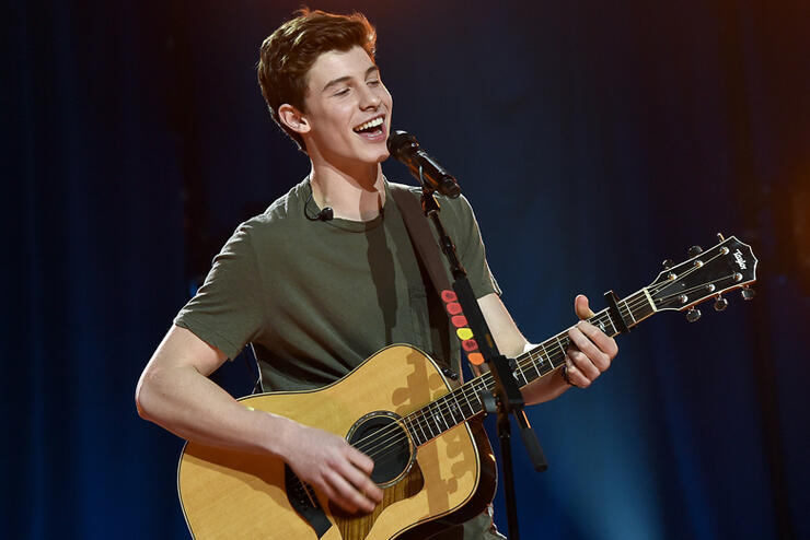 iHeartRadio Music Awards Fan Army Nominee Celebration, Presented By Taco Bell Featuring Shawn Mendes At The iHeartRadio Theater Los Angeles