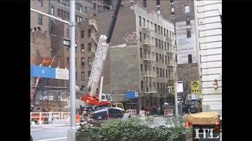Call me Furious...... Mr. Furious! - Wrecking Ball Flips Car in NYC