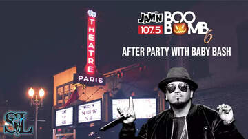 Boo Bomb - Boo Bomb After Party w/ Baby Bash at the Paris Theatre!