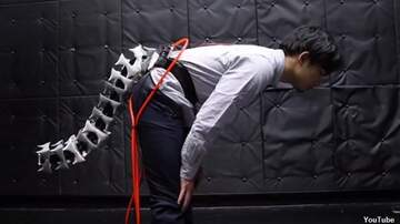Coast to Coast AM with George Noory - Watch: Japanese Researchers Develop Robotic Tail for Humans