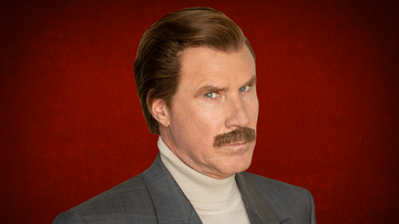 Rock News - Ron Burgundy Uses The Same Password For Everything