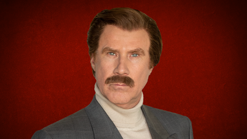 iHeartRadio Podcasts - Ron Burgundy Offers To Be Kamala Harris's Running Mate On His Podcast