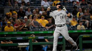 Brewers - Keston Hiura homers twice in Brewers' 8-3 win over Pirates