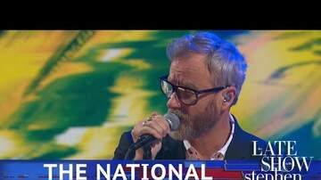 Frank Bell - The National plays Rylan on The Late Show
